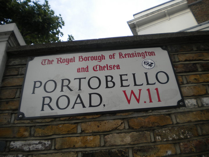 Portobello Road, Notting Hill, Londres