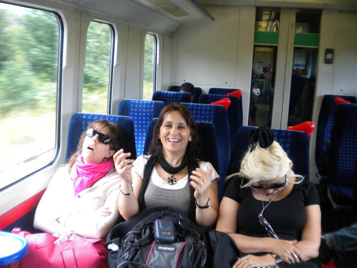 Viaje en tren a Edimburgo, Escocia